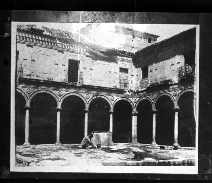 Orden de la Santísima Trinidad de Murcia: Archivo de clichés Convento derruido c. 1900