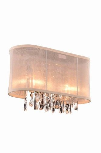 "3200 Harmony Collection Wall Lamp D: 15"" H: 10"" Lt: 2 Chrome (Royal Cut Crystal). 3200 Harmony Collection Wall Lamp D: 15"" H: 10"" Lt: 2 Chrome (Royal Cut Crystal)  Watts: Lumens: Lamp Type: Shape: Style:Contemporary Light Bulbs:2 Bulb Type:E12 Bulb Wattage:40 Max Wattage:80 Voltage:110V-125V Finish:Chrome Crystal Trim:Royal Cut Crystal Color:Crystal (Clear) Hanging Weight:6"