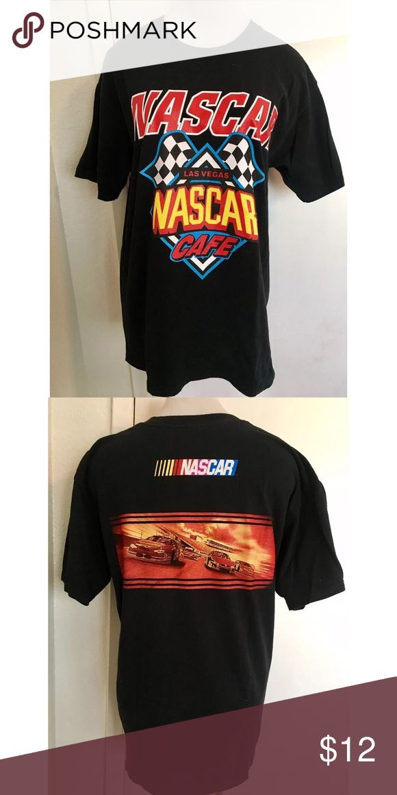 NASCAR Las Vegas Shirt Large Previously Owned. In Good Condition. Size: Large. Material: 100% Cotton Shirts Tees - Short Sleeve