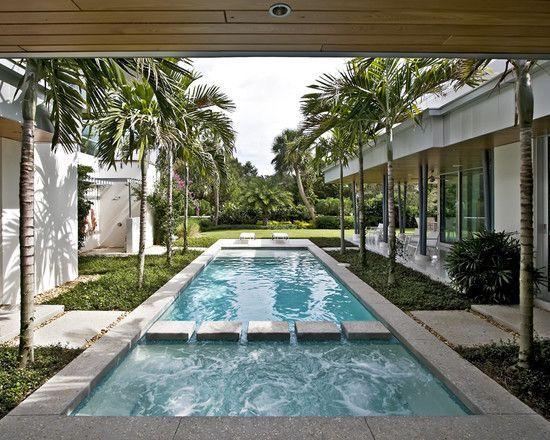 As 25 melhores ideias de courtyard pool no pinterest for Pool design new orleans
