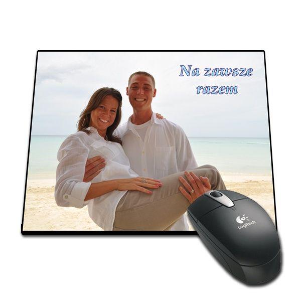 Foto podkładka pod myszkę do komputera