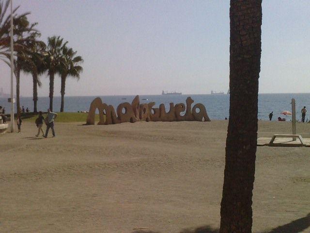 Malagueta Beach, Málaga, Spain :p