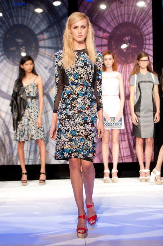 Charlotte Ronson Spring 2014 Runway Show | NY Fashion Week