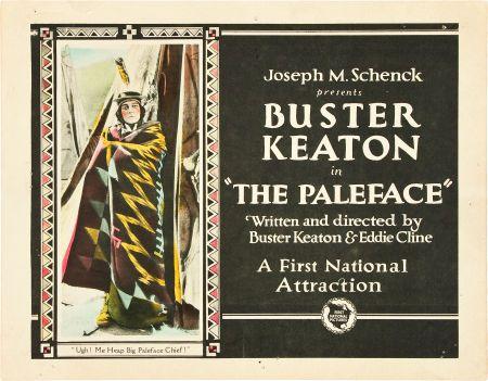 DVD CINE 2450-III - El rostro pálico (1921) EEUU. Dir: Buster Keaton. Curtametraxes. Comedia. Oeste. Sinopse: uns malvados buscadores de petróleo dan un prazo dun día aos indios para marchar das súas terras. O xefe indio ordena aos seus guerreiros que maten ao primeiro home branco que apareza. Buster aparece en escena perseguindo a unha bolboreta.