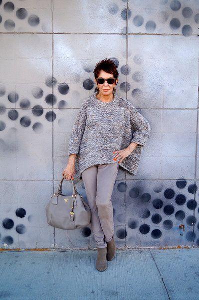 """Ей 82 года и готова поспорить более модной """"пенсионерки"""" вы ..."""