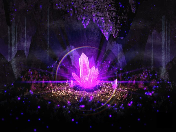 magic crystal crystal cave for healing pinterest