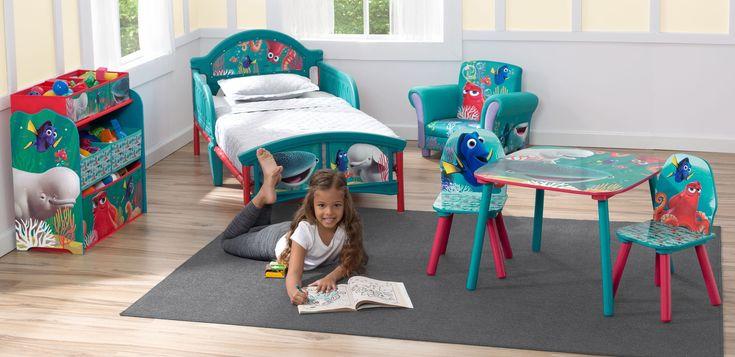 Oferta Habitación Disney Dory. Con colchón y almohada. BB86966FD + TB83292FD + TT89538FD + UP85935FD, IndalChess.com Tienda de juguetes online y juegos de jardin