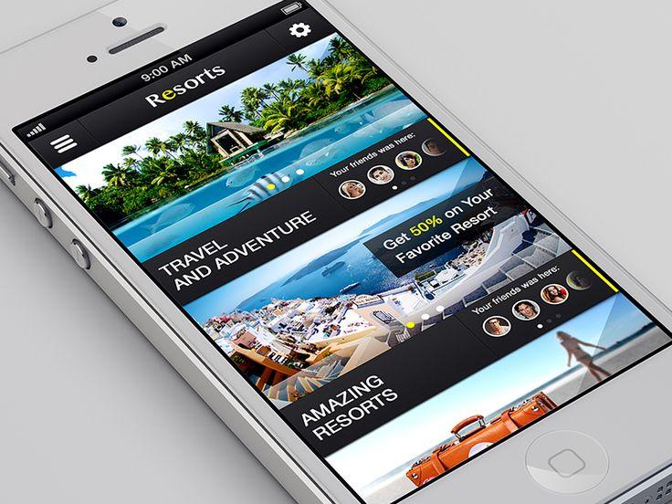 iOS Travel App by ALEX BENDER