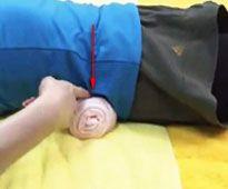 похудение с помощью валика из полотенца отзывы похудевших