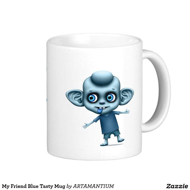 My Friend Blue Tasty Mug