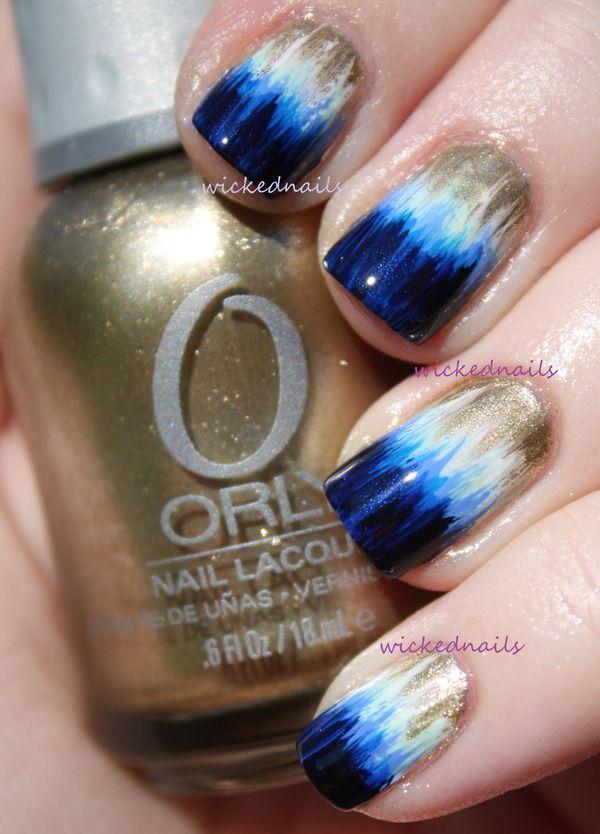 Dip Dye Nails