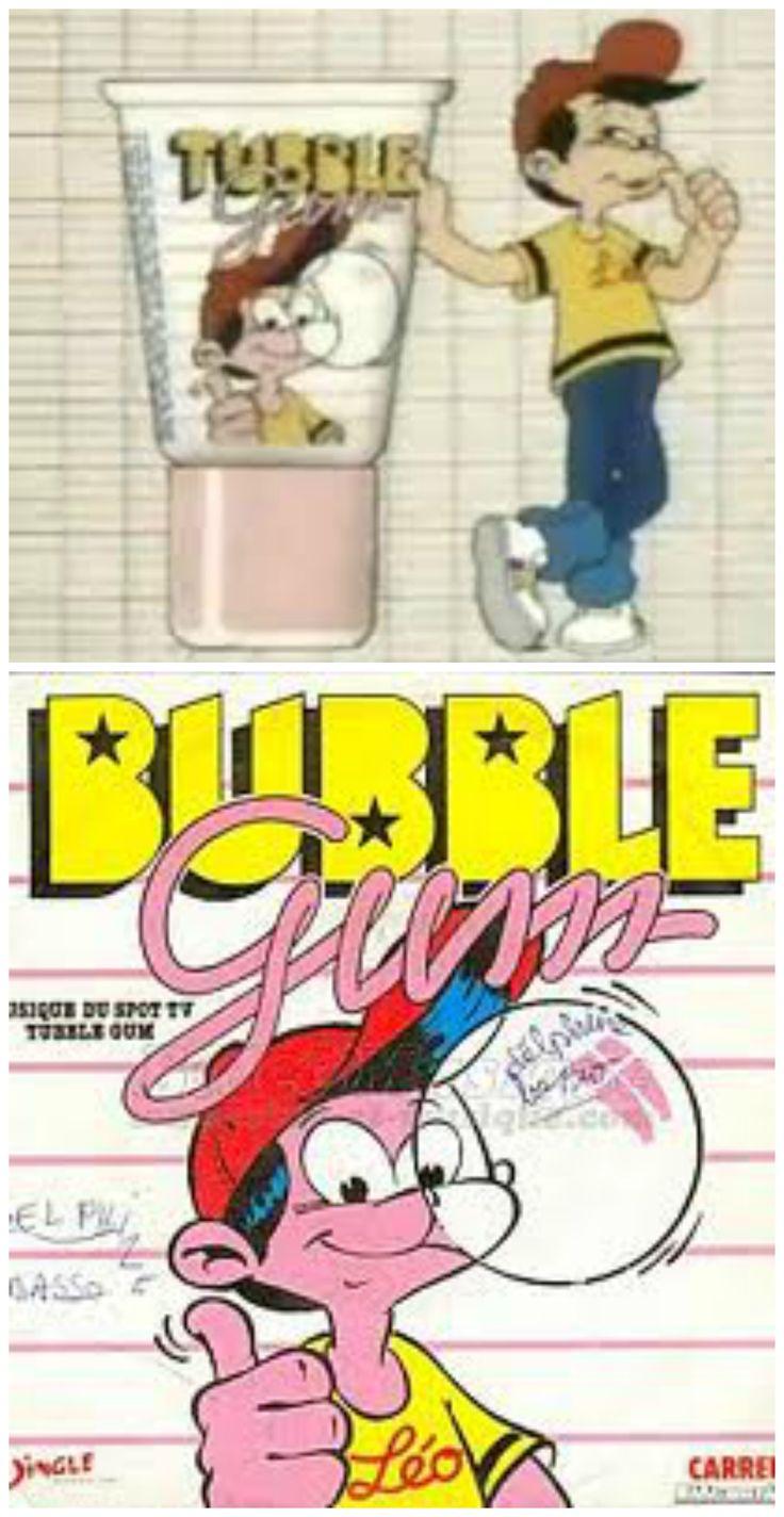 Le chewing-gum en tube - Enfance