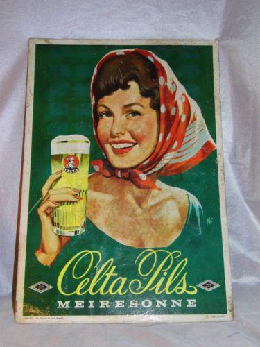 Une ancienne et authentique publicité de bière, grand format, CELTA PILS MEIRESONNE BRUXELLES, est en vente par DEPOTDACHILLE. Prix et contact sur http://www.lesbrocanteurs.fr/annonce-antiquaire/celta-pils-biere-carton-pin-up-publicitaire-no-emaillee/