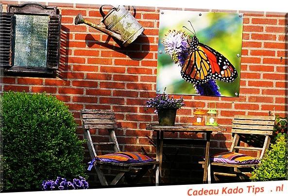 Breng sfeer in je tuin met een passende tuinposter, of een foto van je kinderen ..