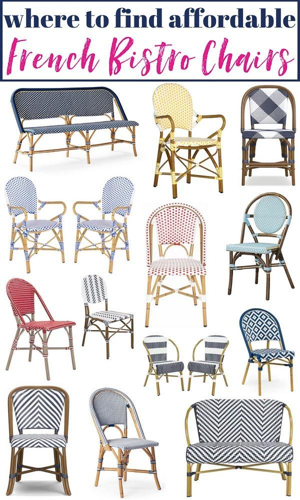 cbcefb901e Where to Buy Affordable French Bistro Chairs! The 38 best ...