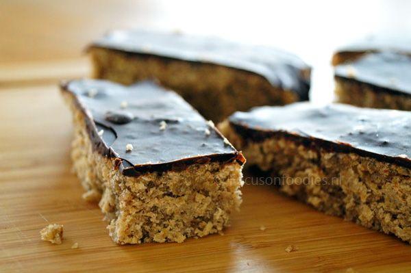 Glutenvrije en Suikervrije haverrepen uit het Voedselzandloper Kookboek - Focus on Foodies
