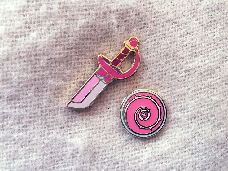 PREORDER - Steven Universe Rose Quartz Sword and Shield Enamel Pin - Ships out June 30th by LilyXiaDesigns on Etsy https://www.etsy.com/listing/531553537/preorder-steven-universe-rose-quartz