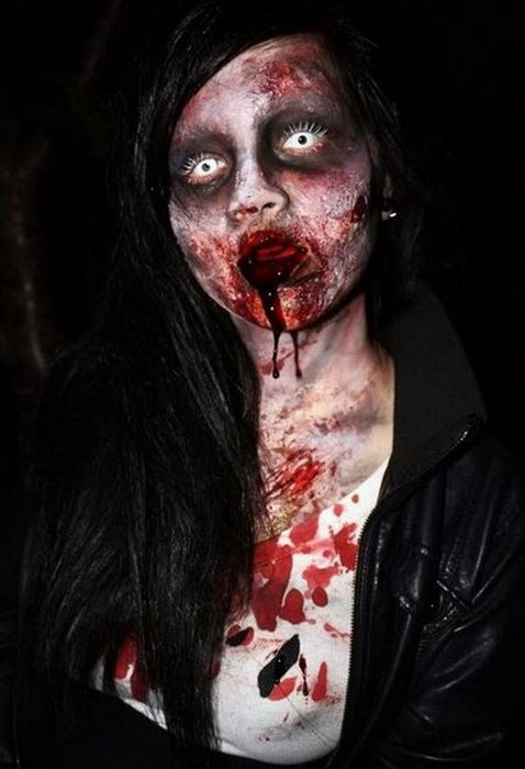 62 best College Halloween Make-up Project images on Pinterest ...