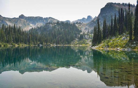 Parks Canada - Mount Revelstoke National Park - Eva, Miller and Jade Lakes hikes