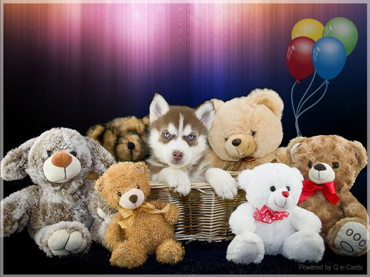 Birthday eCard – Bear Friends