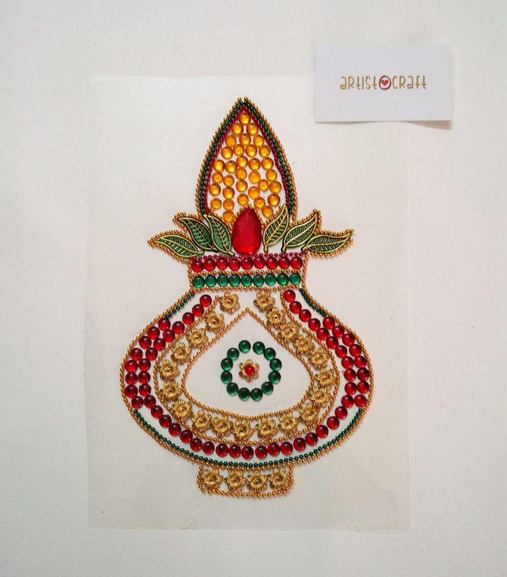 1000 Images About Rangoli: 1000+ Images About Pooja Thali, Di Ya Thali, Mahendi Thali
