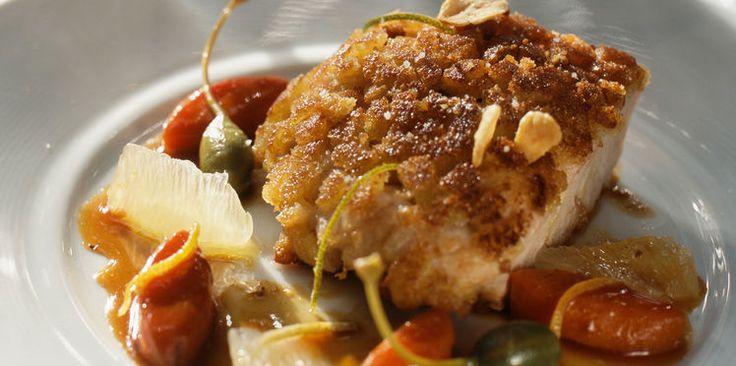 Escalopes de poulet panées au four