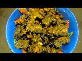 Заяц тушеный с черносливом. Простые блюда из дичи. https://youtu.be/M5NjVQ-P0MM