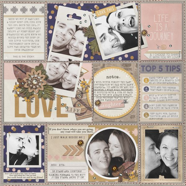 LOVE & LIFE Project Life by justagirl