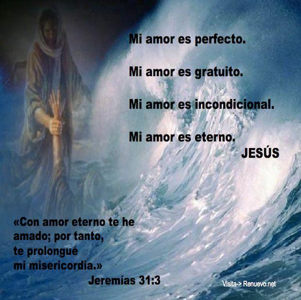 Eres Glorioso e infinitamente bueno, Senor Jesus...........Amor Perfecto