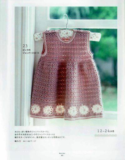 Vestidinho infantil, lindo !! CLIQUE NA IMAGEM E VEJA OS GRÁFICOS