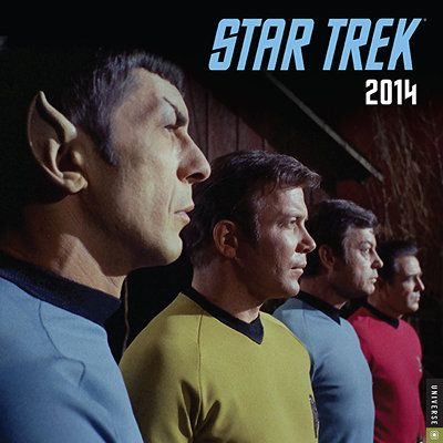 sci fi tv | ... Trek Original Series 2014 Wall Calendar | Sci-Fi TV | CALENDARS.COM