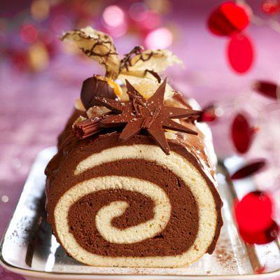 Découvrez la recette de la bûche chocolat-gingembre