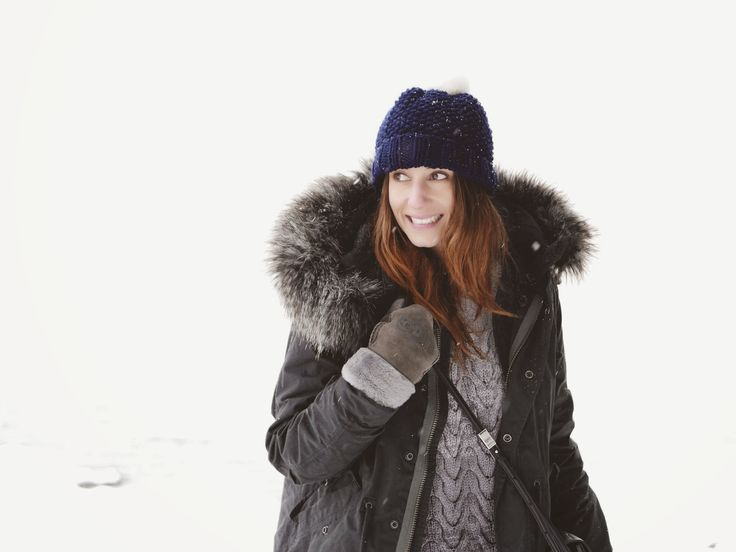 Snowflakes of happiness #Parka #Winter #Layers