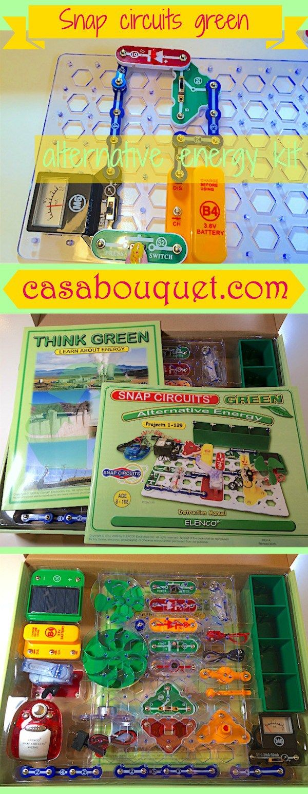 Snap Circuit Solar Wiring Diagram For Professional Circuits Extreme 750in1 Kit W Computer Interface Click To Green Has Over 100 Activities Learning Logo