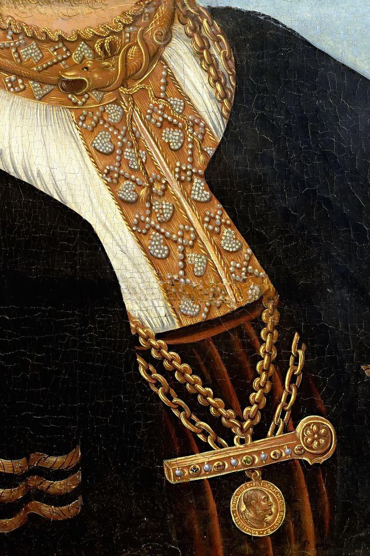 Lucas Cranach the Elder - Portrait of the Chancellor Gregor Brück