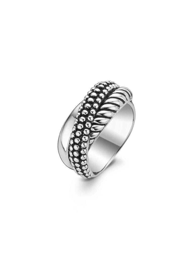 Ti Sento Da noi collectie zilveren ring