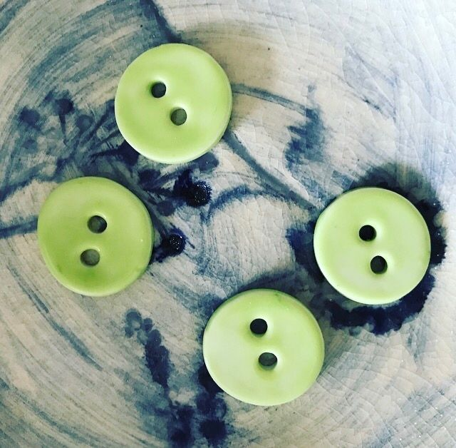 Sweet little apple green buttons - newly listed on my Facebook shop (see link in Bio) and my website - www.imadeitforyou.com.au  I'm busy planning some giveaway competitions for March when my shop is fully stocked - so keep an eye out on my Insta and facebook feeds for more info soon!