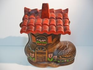 Image detail for -Vintage The Old Woman Who Lived in a Shoe Cookie Jar | eBay