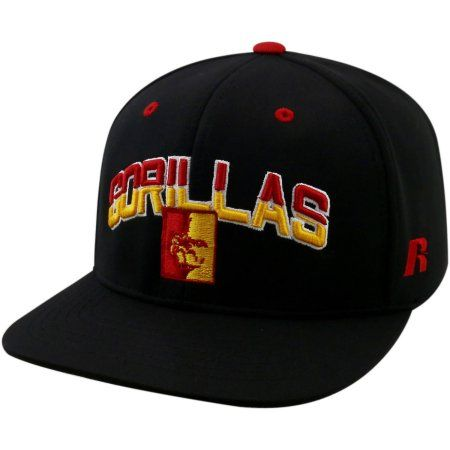 University Of Pittsburg State Gorillas Flatbill Baseball Cap, Black