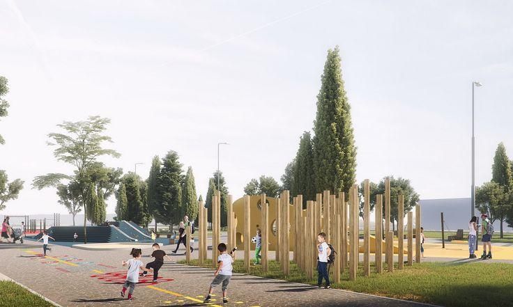 Детская площадка «ОСТРОВА» — RASTVORGROUP