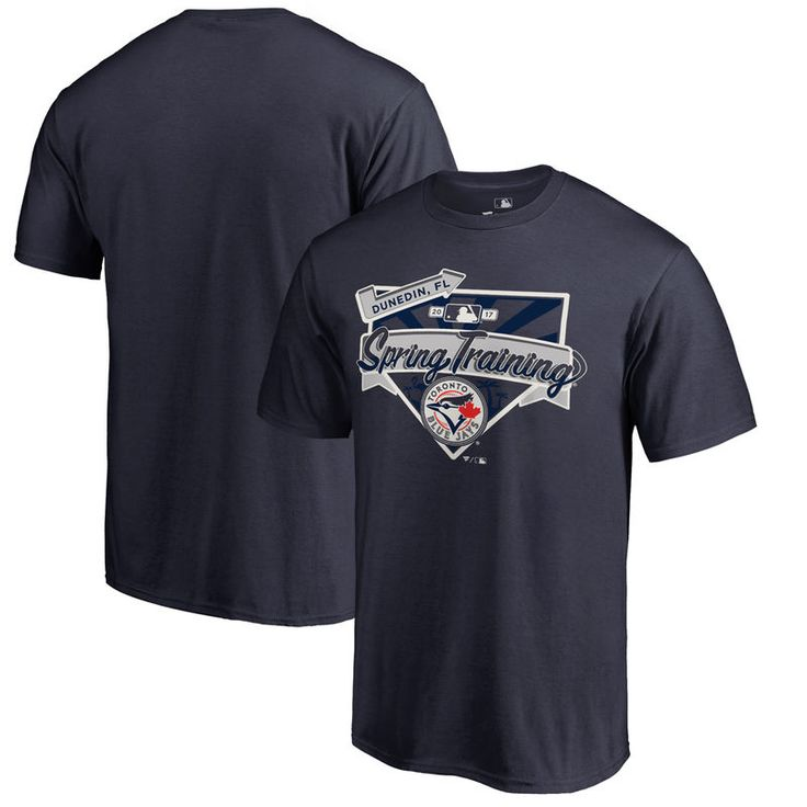 Toronto Blue Jays Fanatics Branded 2017 MLB Spring Training Team Logo Big & Tall T-Shirt - Navy
