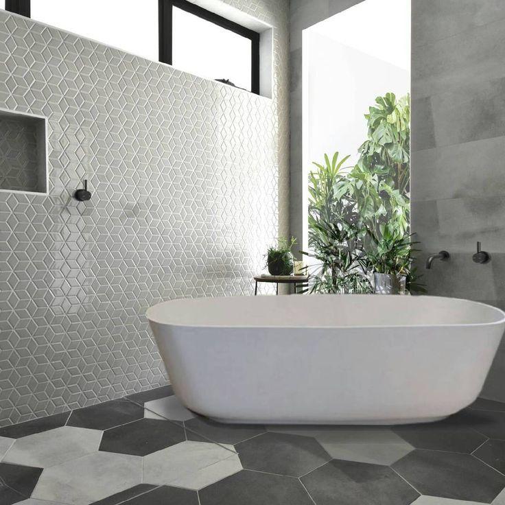 Amber Tiles Kellyville Modern Deco bathroom by