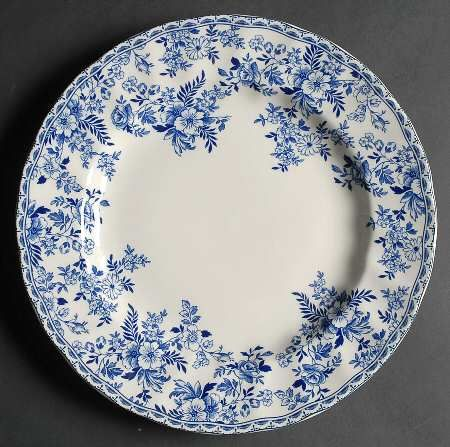 Devon Cottage By Johnson Brothers Blue Dinner Platesblue Plateswhite