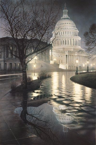 Capitol dome, Washington, D.C. near my current home.