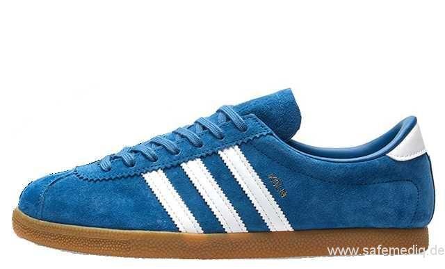 6.5 By9804 FrauenMänner Adidas Koln Blau Weiß Turnschuhe