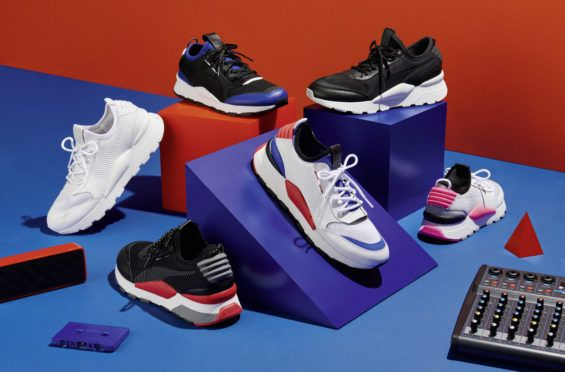 The PUMA RS 0 Sound Is Inspired By 80s Music Vibes