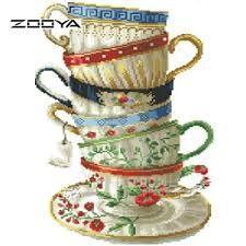 Image result for schilderij met kopje koffie