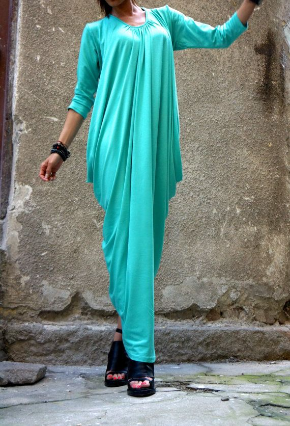 Hey, I found this really awesome Etsy listing at https://www.etsy.com/listing/192474237/xxlxxxl-maxi-dress-asymmetric-kaftan