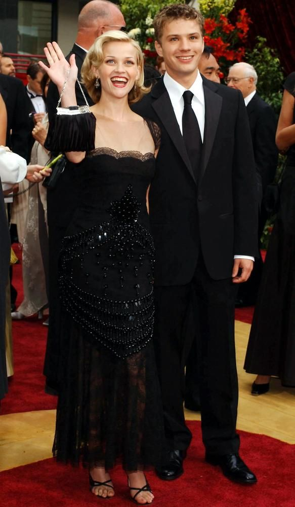 Reese Witherspoon and Ryan Philippe, Oscars 2002