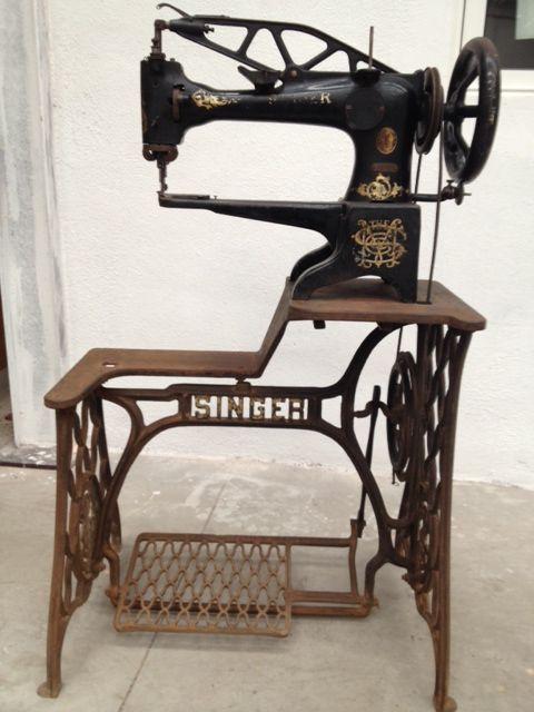 29K1 Singer Sewing machine 1898